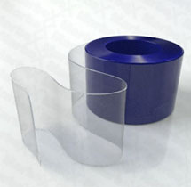 PVC Rolle transparent 300x3mm