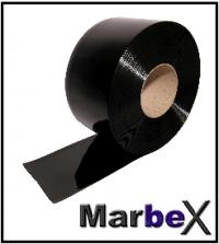 PVC Vorhang Schwarz Blickdicht Sichtschutz Undurchsichtig von Marbex®