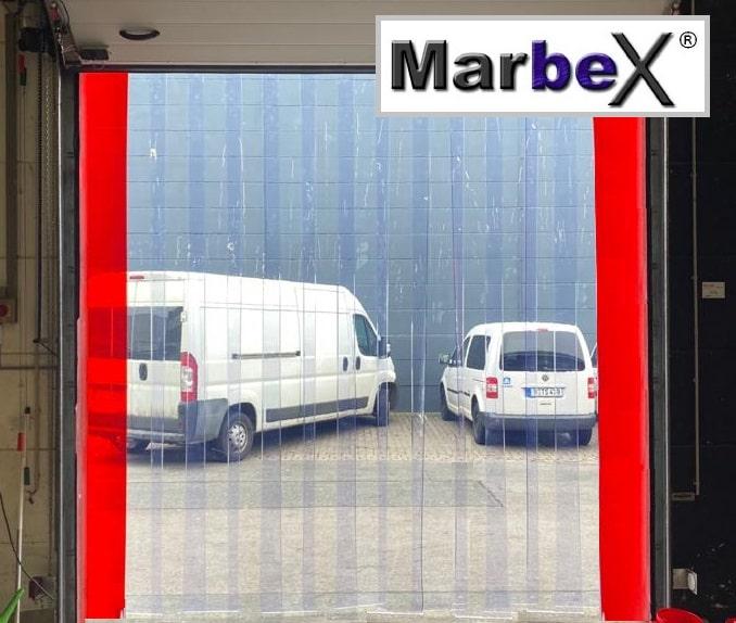 PVC Streifenvorhang Transparent aus Industrie PVC Streifen