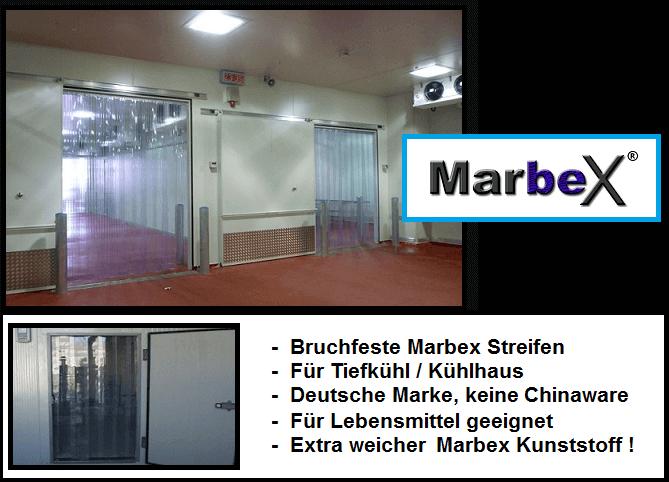 PVC Streifenvorhang Kühlhaus transparent Vorhang